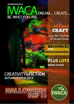 IWACA Dream... Create... be who you are Autumn Issue 2014