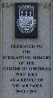 Greenock memorial