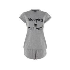 Misguided 'Sleeping In' Pajama Set