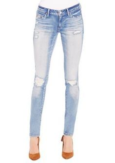 Jessica Simpson Tokion Plus Size Super Skinny Jeans