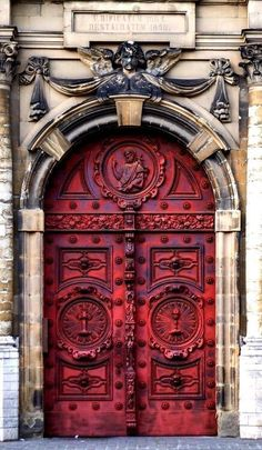 101 Ideas For Red front Door Design 101 Ideas for Red Front Door. Many people choose red front door paint for their house. Read on what may be the reason behind the choice.