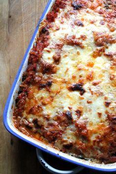 Cabbage & Red Lentil Lasagna