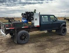 The Diesel Page — welding rig Welding Trailer, Welding Trucks, Welding Rigs, Truck Mechanic, Truck Flatbeds, Shop Truck, Custom Truck Beds, Custom Trucks, Ford Pickup Trucks