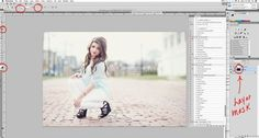 How To Use Layer Masks - Photoshop & Elements Editing tips. Video Tutorial - http://www.colorvaleactions.com/blog/how-to-use-layer-masks/