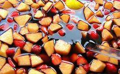 Receitas - Sangria de Vinho Tinto - Petiscos.com
