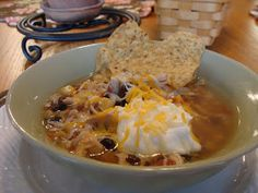 Kristi's Recipe Box: Crockpot Tortilla Soup