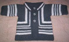 Panda Man's Knitting Corner: Elizabeth Zimmermann's Baby Surprise Jacket in Stockinette Stitch