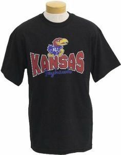 NCAA Kansas Jayhawks Sisqo Short Sleeved T-Shirt, Black, Medium CI Sport. $16.99