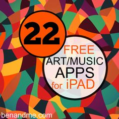 115 Free iPad Apps to Kickstart Your School Year - ipad - Ideas of ipad - 22 free art and music apps for ipad (plus 90 more for other areas of your school/homeschool) Art And Technology, Educational Technology, Technology Integration, Business Technology, Homeschool Apps, Homeschooling, Curriculum, Tech Art, Music Lessons