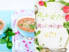 Wassermelonen- Radieschen – Suppe