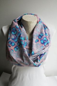 Leopard Print Infinity Scarf Peach Infinity Scarf Colorful Leopard Scarf Gift for her Women Scarf by dreamexpress from dreamexpress on Etsy. Find it now at http://ift.tt/2aFn4Tl!