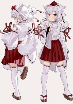 Anime Girl Neko, Chica Anime Manga, Anime Chibi, Manga Girl, Fantasy Character Design, Character Art, Touhou Anime, Dreamland, Manga Dragon