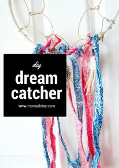 How To Make a Dream Catcher from MomAdvice.com. What a fun craft to do with your kids!