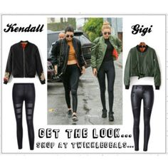 Kendall & Gigi get their style from twinkledeals x