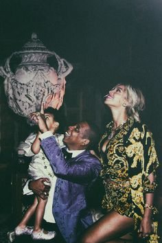Blue Ivy, Jay Z and Beyonce - Success