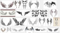 Wings Tattoo Meanings | iTattooDesigns.com