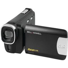 Bell+Howell DNV6HD-BK Rogue Infrared Night Vision Camcorder with 1080p HD and 20 MP Resolution Video Camera with 3.0-Inch LCD (Black) #X