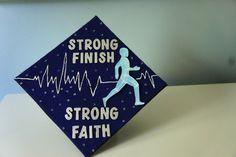 Cap decorating on Pinterest   Graduation Caps, Physical ...