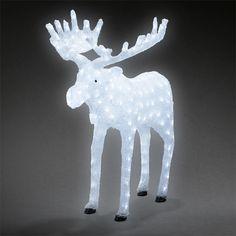 julfigurer med belysning