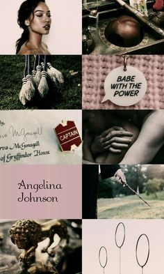 Angelina Johnson from Harry Potter