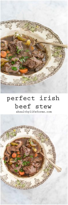 Irish Beef Stew Healthy and Clean Recipe   ahealthylifeforme.com
