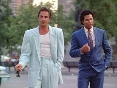 Thank you, Miami Vice, for encouraging thousands of men to don pastel suits with oversized jackets, ... - Photo Pinterest