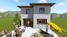 Kleingartenwohnhaus Libertas50 Style At Home, Mansions, House Styles, Home Decor, Ideas, Decoration Home, Manor Houses, Room Decor, Villas