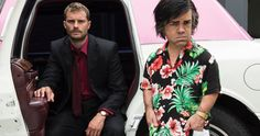 First Look at Peter Dinklage as Fantasy Island Star Herve Villechaize -- Peter Dinklage stars as Herve Villechaize in HBO's original movie My Dinner With Herve. -- http://movieweb.com/my-dinner-with-herve-movie-peter-dinklage-villechaize-photo/