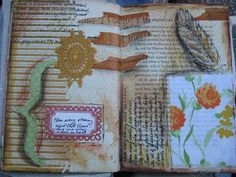 Altered Book page at OfficeType