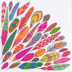 Feathers  #milliemarotta #tropicalwonderland