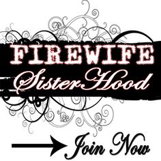 """Our Fire Wife communities are filled with women like you who """"get"""" the fire wife life.   Here you will find girlfriends like you've never found before who can sympathize, support, encourage and motivate you to be your best self as a fire wife.  Join at FirefighterWife.com/join"""