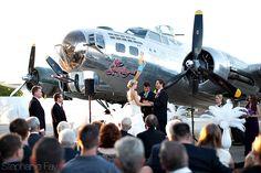 Airplane themed wedding : Annee + Scott