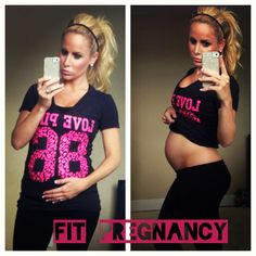 Don't use pregnancy as an excuse to not be in shape! Read more for 6 proven methods to exercise while pregnant!    #fitmom