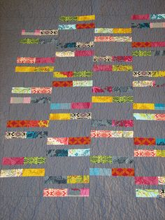 Gloria's quilt by beth - uses Anna Maria Horner's Good Folks fabrics