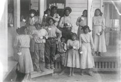 Group picture at the Tuberculosis Sanitorium, Phoenix Indian School, Phoenix, Arizona, c. 1890-1910.