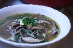 Ginger-Soy Chicken Noodle Soup