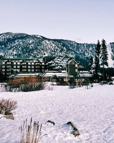 12.15 post card from lake tahoe
