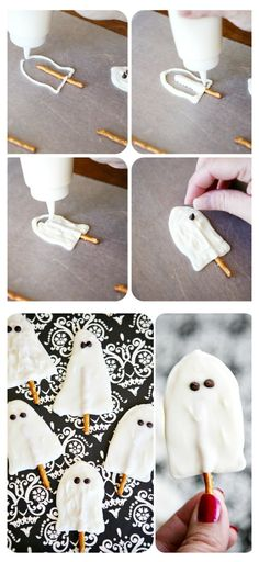 Ghost Pops | Fun Halloween Treats