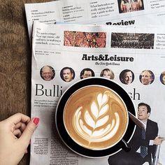 coffee at Cafe Grumpy / photo by Jane Kim