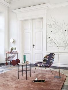 GUBI // Beetle Lounge Chair, TS Lounge Table