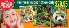 Zoobooks donates a certificate good for a full-year subscription for your fundraising event. Simply send your request through the Contact form. They will email you the certificate to print when approved usually a few weeks after you submit request.