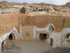 Tunisie, Matmata  Visiter les célèbres demeures troglodytes!