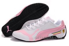 74c2d3fd32a Womens Puma Future Cat Low 829 White Pink Black Top Deals