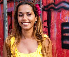 Panmela Castro- Panmela is a young multimedia artist from Brazil who uses graffiti and street art to promote social change and awareness. Panmela realizes her vision with the human rights organization Comcausa and Grafiteiras Pela Lei Maria da Penha, a project that links graffiti and urban culture to combating violence against women.
