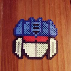 Soundwave (Transformers) perler beads by ice_solation