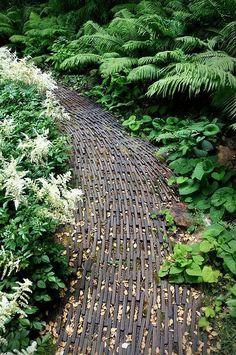 60 On Budget Garden Walk Path Ideas for an Easy Movement Around the Garden ~ Matchness.com Landscape Architecture, Landscape Design, Garden Design, Architecture Layout, Path Design, Garden Paving, Garden Paths, Pavement Design, Path Ideas