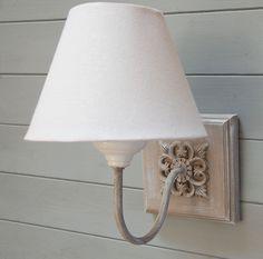 Holt wooden wall light