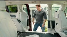 Comedian Jim Gaffigan asks viewers if they have ever fallen in love with their car vacuum. If they have not, he thinks they will fall in love with the Stow 'n Vac system in the 2017 Chrysler Pacifica. While one man pulls the vacuum tube from the interior wall of the van and sucks up debris from the floor, another man lugs out a corded wet vacuum from the garage to start cleaning out his Toyota Sienna, which does not have an integrated vacuum.
