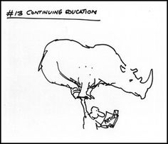 13. Institute a vigorous program of education and self-improvement.