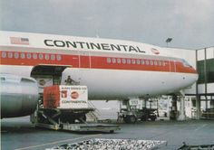 Continental Airlines DC-10 Air Cargo